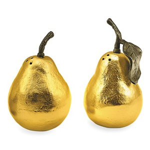 Gold Pear Salt and Pepper