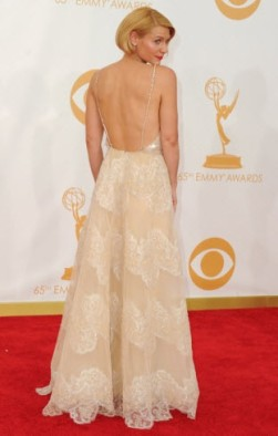 Clare Danes Emmys 2013 2
