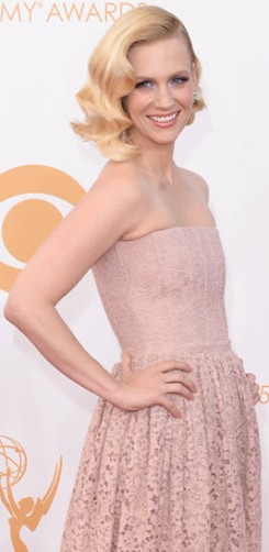 January Jones Emmys 2013 2
