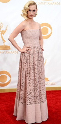 January Jones Emmys 2013