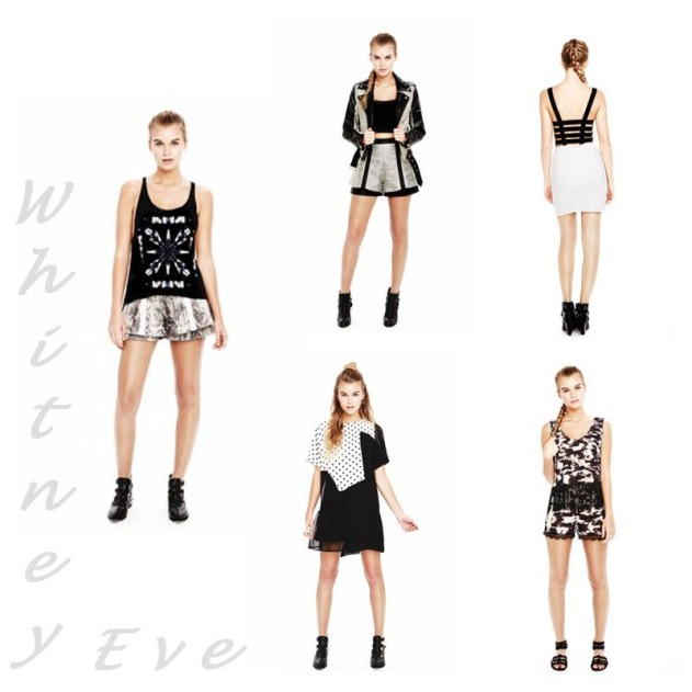 Whitney Eve Spring Summer 2014
