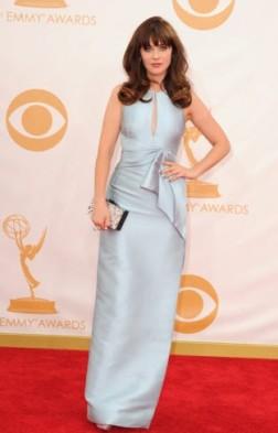 Zooey Deschanel Emmys 2013