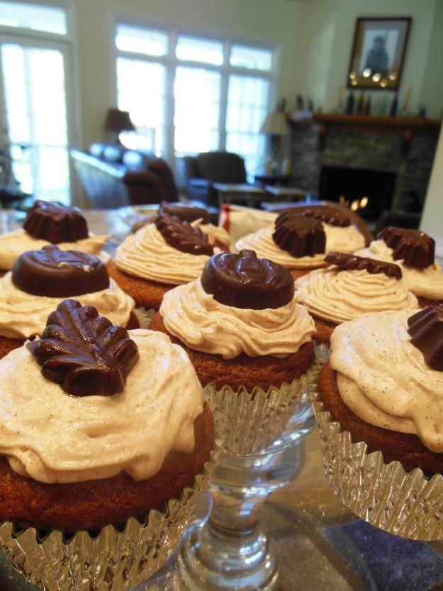 Pumpkin Spice Cupcakes 3
