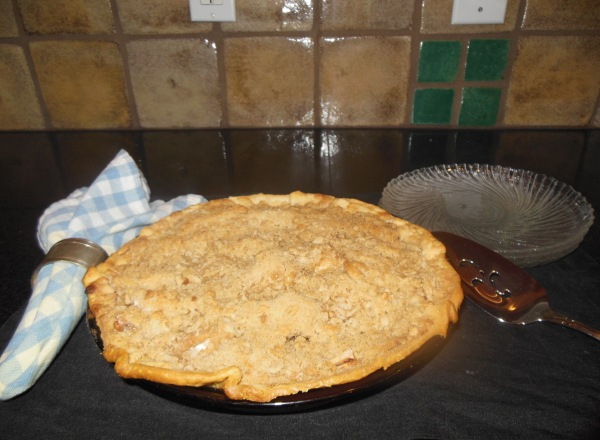 Apple Pie Crumble Top 1