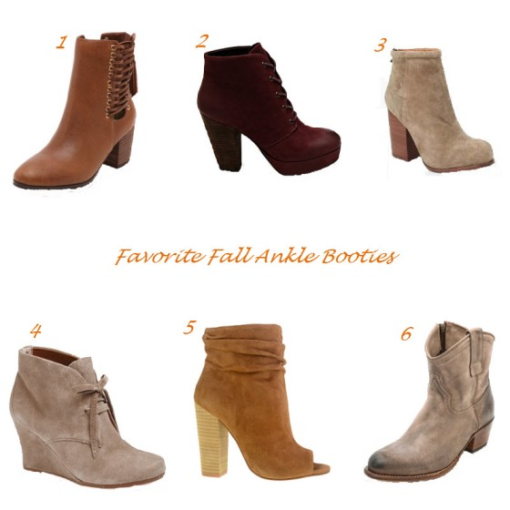 Favorite Fall Ankle Booties